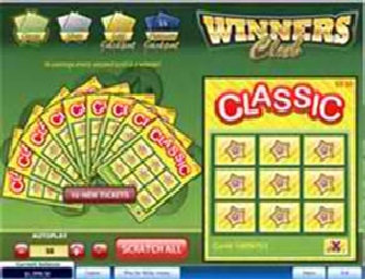 Electronic Scratch Cards