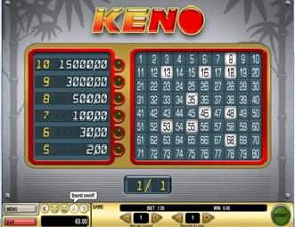 Online Keno